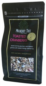 Award winning Toasted Cranberry Granola