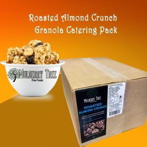 roasted almond crunch granola