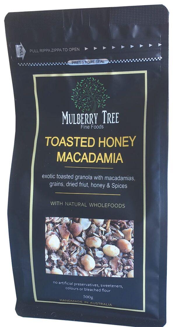 Mulberry Tree - Fine Foods brand Macadamia Granola; macadamia Muesli; honey macadamia; Mulberry Tree