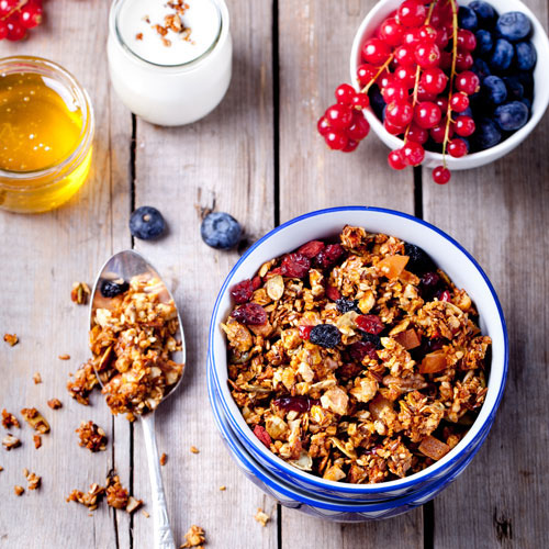 components of a healthy breakfast